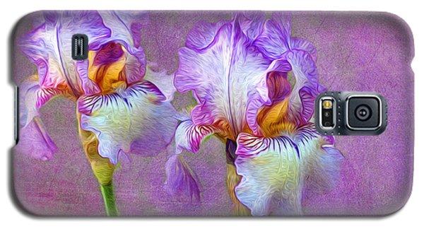 Purple Iris Galaxy S5 Case by Lena Auxier