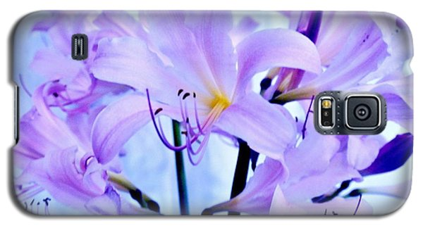 Purple Lily Bouquet Galaxy S5 Case