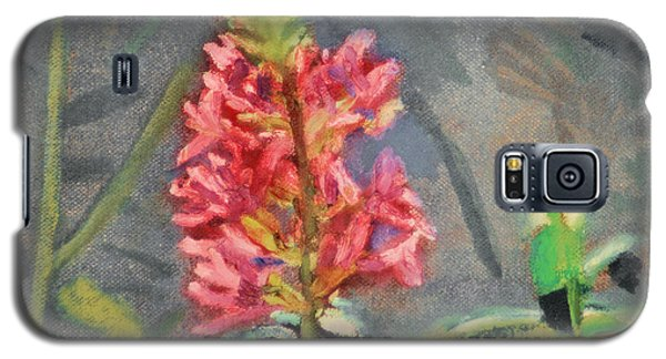Galaxy S5 Case featuring the painting Purple Loosestrife by Michael Daniels