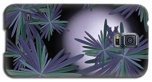 Purple Moon Galaxy S5 Case by Linda Whiteside