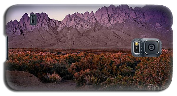 Galaxy S5 Case featuring the photograph Purple Mountain Majesty by Barbara Chichester