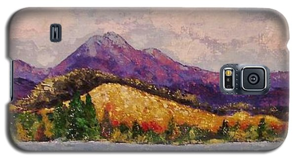 Purple Mountain Majesty Galaxy S5 Case