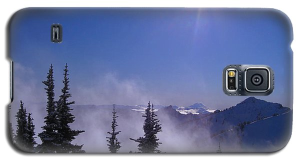 Purple Mountains Majesty Galaxy S5 Case by Kym Backland