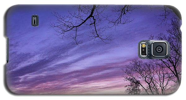 Purple Mountains Galaxy S5 Case