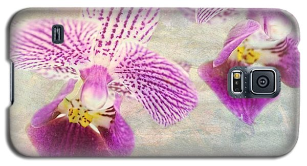 Purple Orchid 2 Galaxy S5 Case