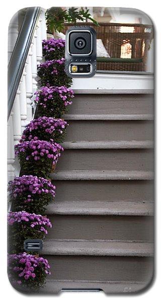 Purple Plants Galaxy S5 Case