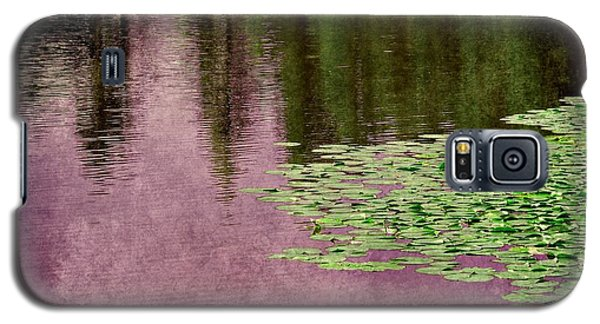 Purple Pond Reflections Galaxy S5 Case
