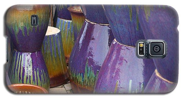 Purple Pots Galaxy S5 Case