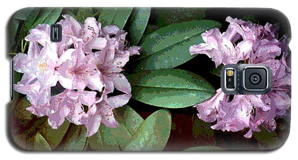 Purple Rhododendron Galaxy S5 Case