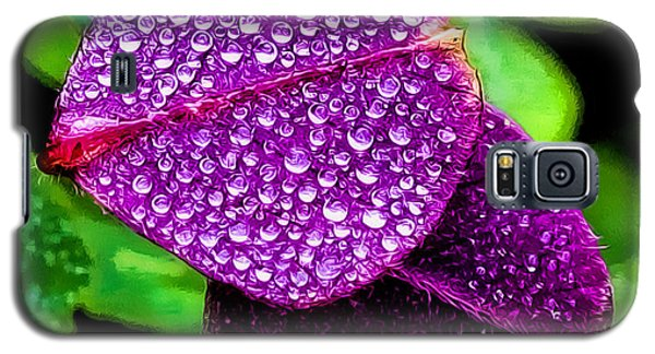 Purple Shimmer Galaxy S5 Case