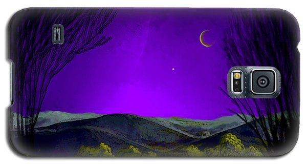 Purple Sky Galaxy S5 Case