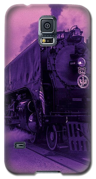 Purple Smoke Galaxy S5 Case