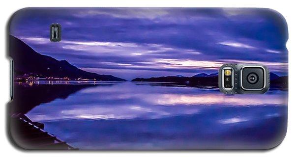 Purple Sunrise In Alaska. Galaxy S5 Case