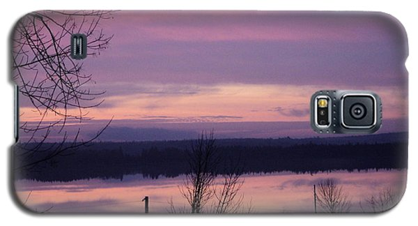 Galaxy S5 Case featuring the photograph Purple Sunrise by Jesslyn Fraser