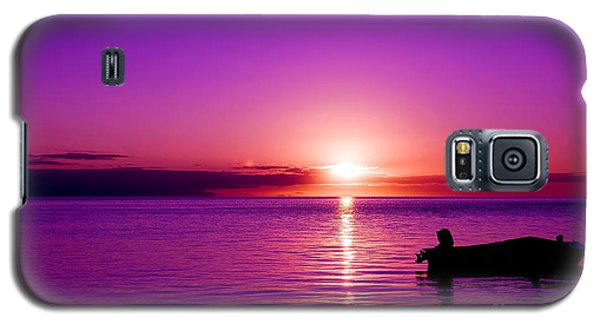 Purple Sunrise Galaxy S5 Case