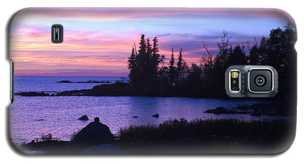 Purple Sunset 3 Galaxy S5 Case by Sheila Byers
