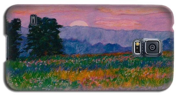 Purple Sunset On The Blue Ridge Galaxy S5 Case