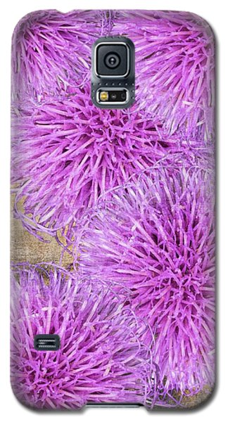 Purple Thistle - 2 Galaxy S5 Case