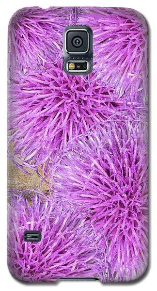 Purple Thistle - 2 Galaxy S5 Case