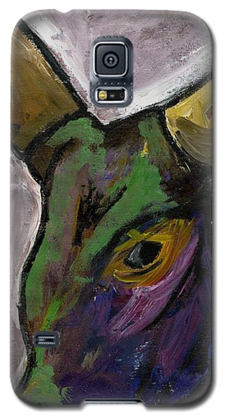 Purple Ugandan Cow Galaxy S5 Case