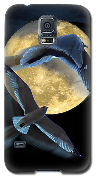 Pursuit Over The Moon. Galaxy S5 Case