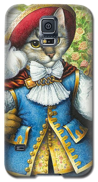 Puss-in-boots Galaxy S5 Case