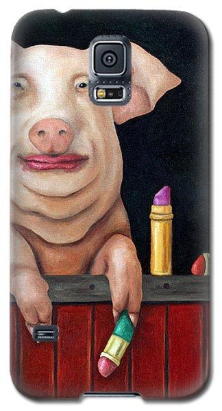 Putting Lipstick On A Pig Galaxy S5 Case