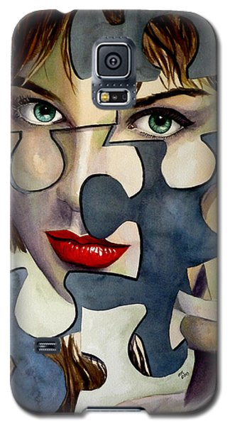 Puzzled Galaxy S5 Case