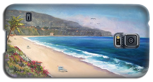 Galaxy S5 Case featuring the painting P.v. View by Jennifer Beaudet