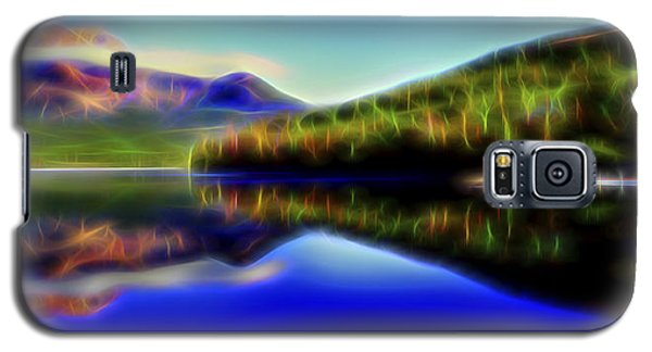 Galaxy S5 Case featuring the digital art Pyramid Mirror 1 by William Horden