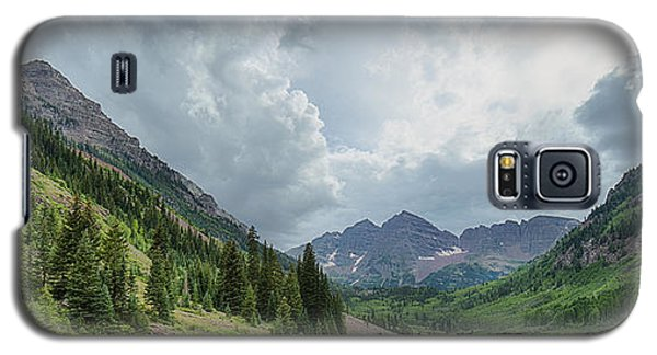 Pyramid Peak And The Maroon Bells Galaxy S5 Case