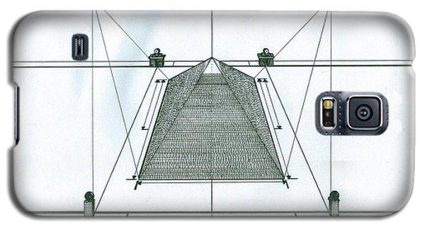 Pyramid Galaxy S5 Case by Richie Montgomery