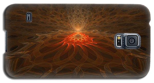 Pyre Galaxy S5 Case by GJ Blackman
