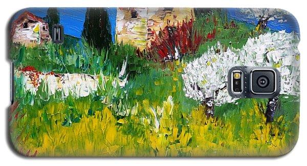 Pyrenees Farm  Galaxy S5 Case