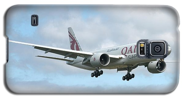 Galaxy S5 Case featuring the photograph Qatar 777 by Jeff Cook