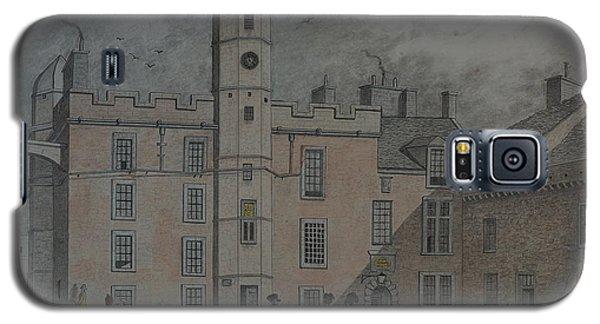 Quadrangle Edinburgh Castle Galaxy S5 Case