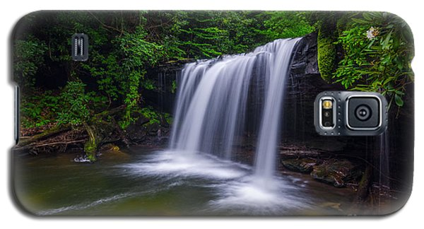 Quadrule Falls Summer Galaxy S5 Case