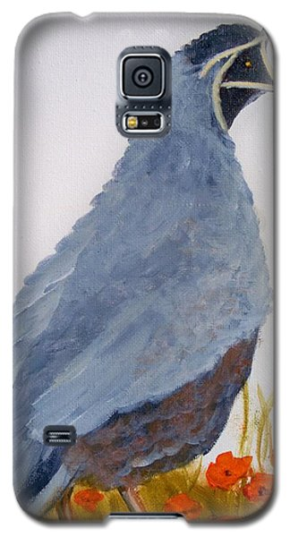 Quail Galaxy S5 Case by Joni McPherson