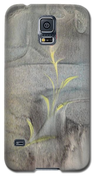 Galaxy S5 Case featuring the painting Quake by Mike Breau