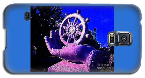 Buddhist Dharma Wheel 2 Galaxy S5 Case