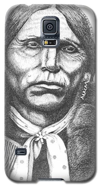 Quanah Parker Galaxy S5 Case by Lawrence Tripoli