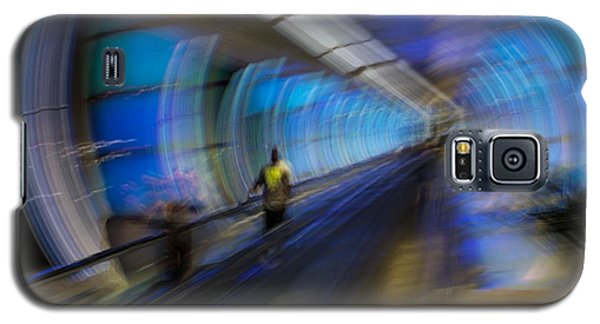 Galaxy S5 Case featuring the photograph Quantum Tunneling by Alex Lapidus