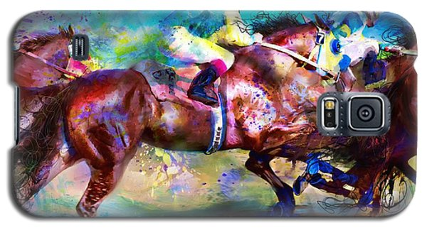 Quarter Racing Blues Galaxy S5 Case