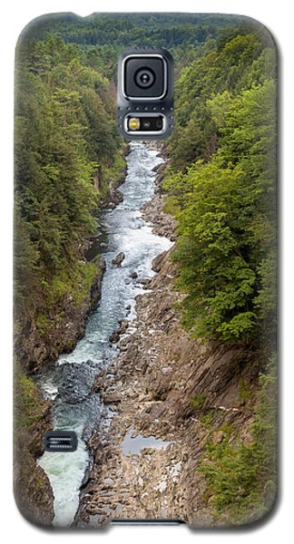 Quechee Gorge State Park Galaxy S5 Case by John M Bailey