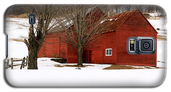 Quechee Red Barn Galaxy S5 Case