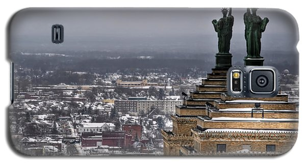 Queen City Winter Wonderland After The Storm Series 0013 Galaxy S5 Case by Michael Frank Jr
