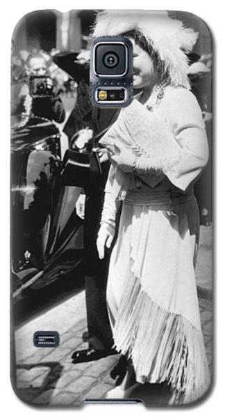 Queen Elizabeth Fashion Galaxy S5 Case by Underwood Archives