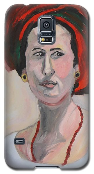 Queen Esther Galaxy S5 Case by Esther Newman-Cohen