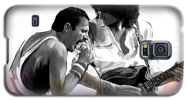 Queen II  Freddie Mercury And Brian May Galaxy S5 Case