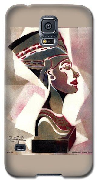 Queen Nefertiti Galaxy S5 Case by Everett Spruill